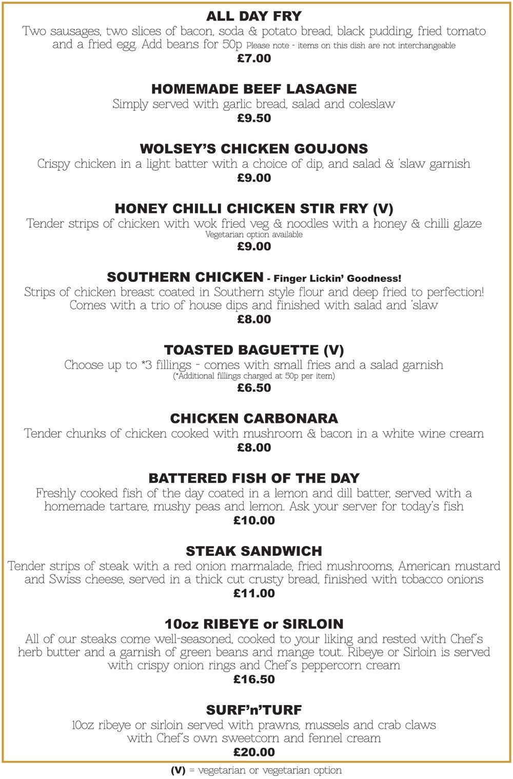 New menus.cdr